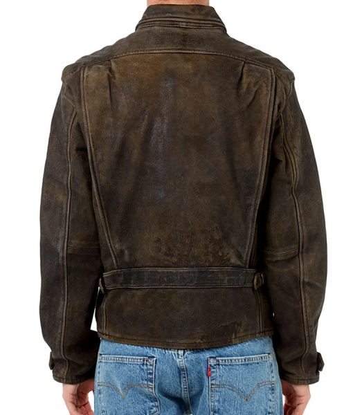 James Bond Dark Brown Leather Jacket