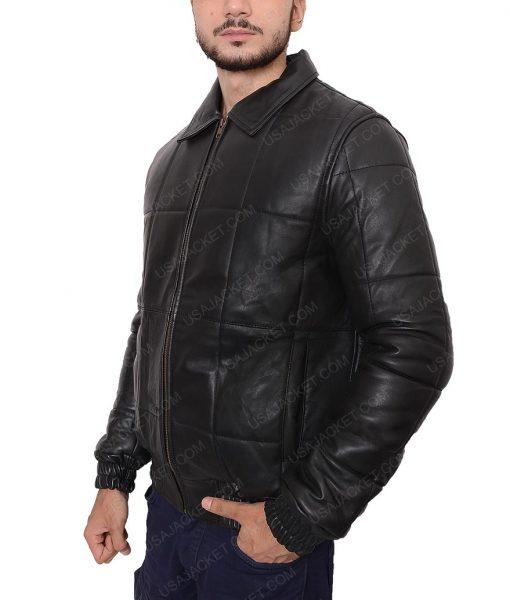Black Mass Johnny Depp Black Bomber Jacket