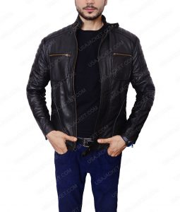 Arrow Malcolm Merlyn CafeRacer Jacket