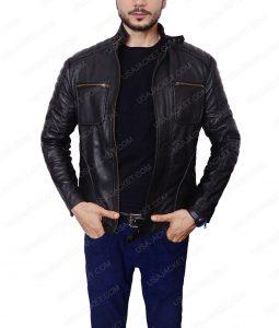 Arrow Malcolm Merlyn CafeRacer Jacket