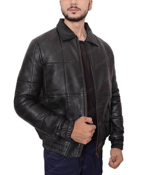 James Whitey Bulger Black Mass Johnny Depp Black Bomber Jacket