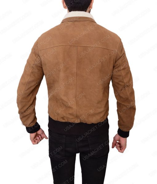 Vito Scaletta Mafia 2 Brown Bomber Leather Jacket