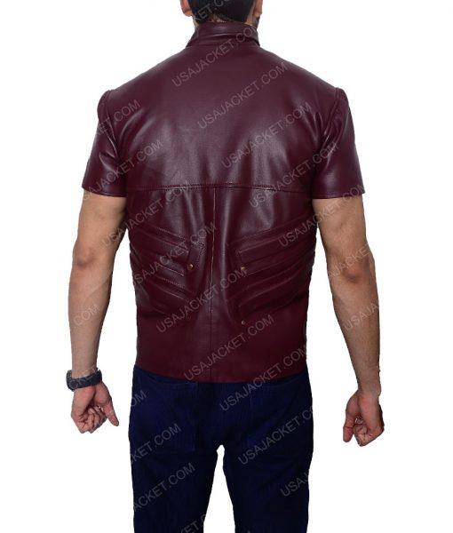 Cafe racer Maroon Vest
