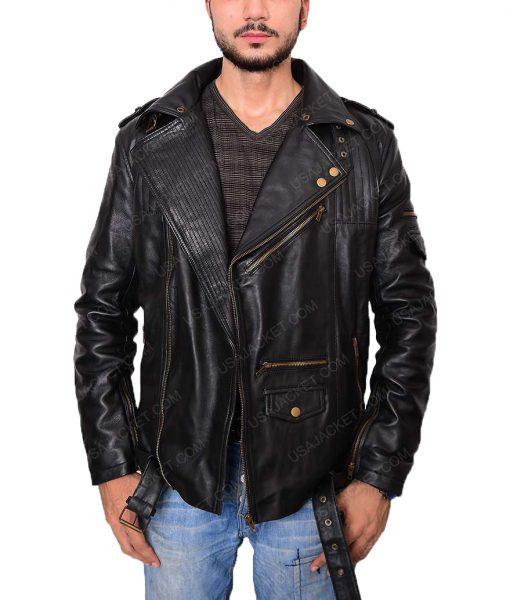 Asymmetric Style Slim Fit Jacket