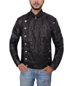 Westworld Hector Escaton Slimfit Black Leather Jacket