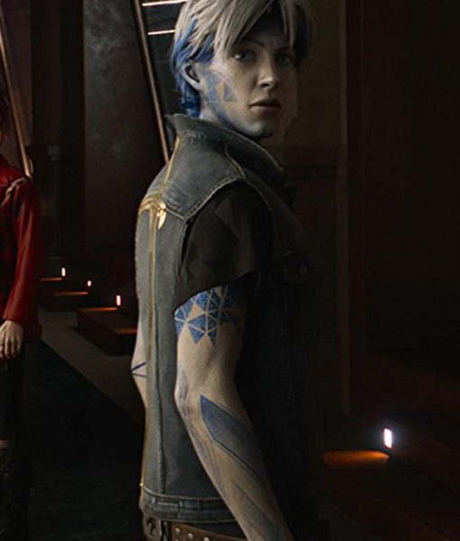 Tye Sheridan Ready Player One Parzival Blue Vest