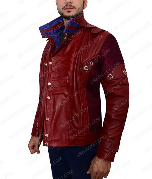 Guardians of The Galaxy Ravager Leather Jacket
