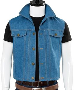 Parzival Ready Player One Tye Sheridan Blue Vest