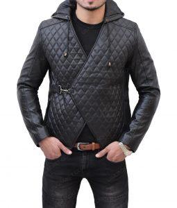 Robin Hood Taron Egerton Hooded Jacket