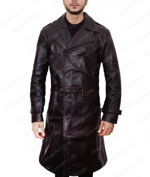 Sean Pean Leather Jacket