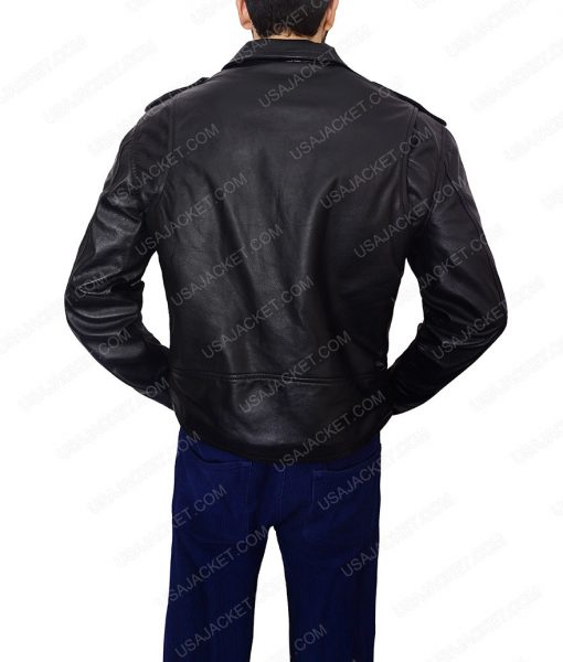 Bruce Springsteen Motorcycle Black Jacket