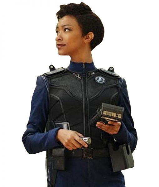 Star-Trek-Discovery-Warriors-Armor-Black-Leather-Vest