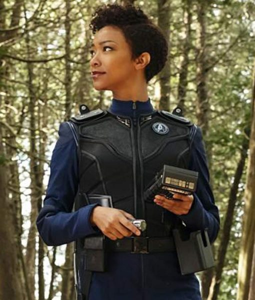 Star Trek Discovery Warriors Armor Black Leather Vest