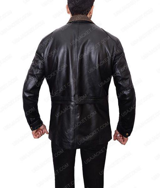 Bane Tom Hardy Black Leather Jacket