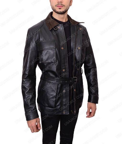 The Dark Knight Rises Bane Black Leather Jacket