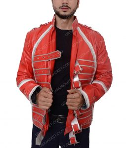 Queen Rock Band Freddie Mercury Red Jacket