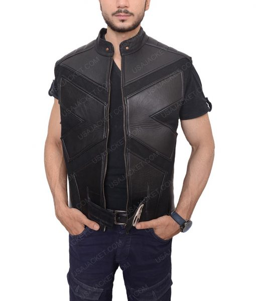 X Men Origins Wolverine Leather Vest