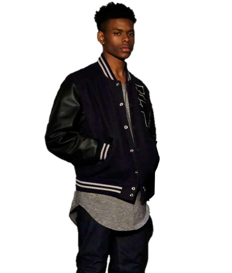 Aubrey Joseph Cloak & Dagger SP Logo Baseball Jacket