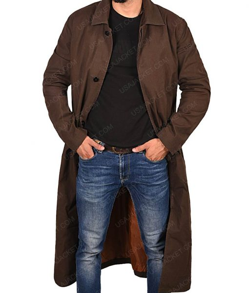 August Walker Mission Impossible Fallout Henry Cavill Brown Trench Coat