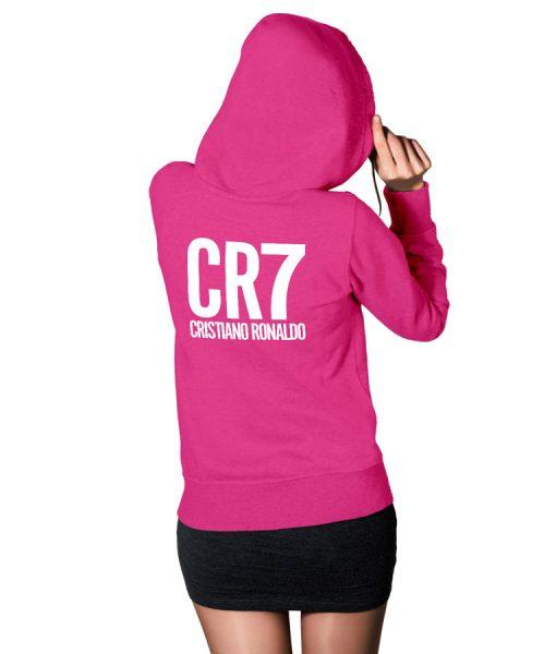 CR7 Cristiano Ronaldo Fans Logo Hoodie