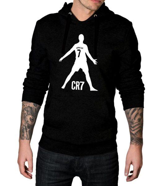 Cristiano Ronaldo CR7 Logo Hoodie