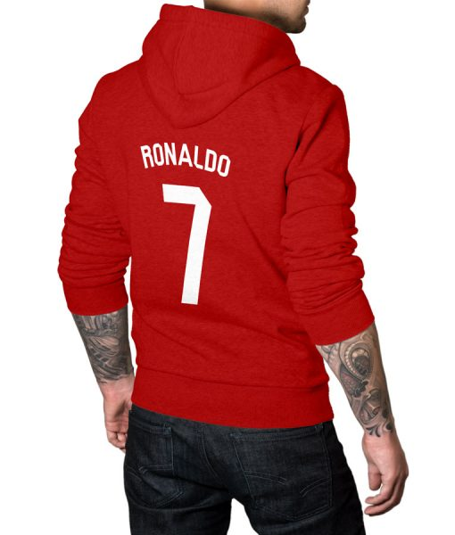 Cristiano Fans No 7 Logo Hoodie