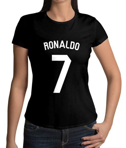 Cristiano Ronaldo No 7 Logo T shirt
