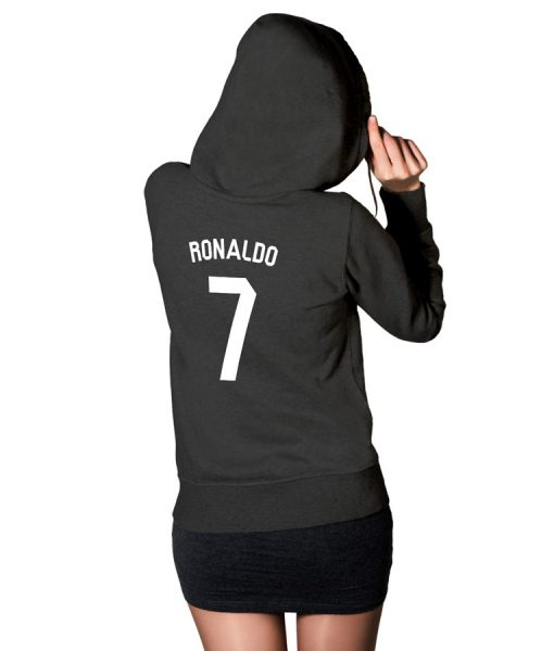 Cristiano Ronaldo No 7 Logo Hoodie