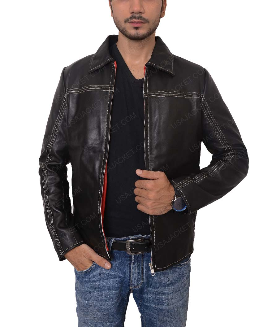 74a6a7c2e0f6 Replica Daniel Craig Layer Cake Leather Jacket
