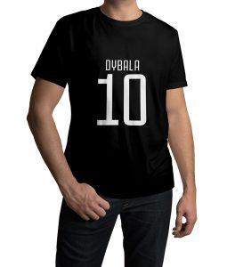 Paulo Dybala Logo Tshirt For Men