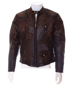 Eddie Brock Brown Leather Jacket