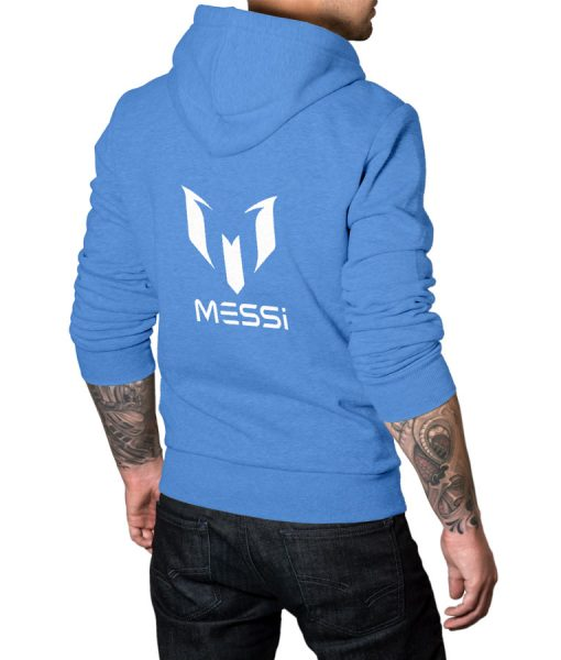 Messi Logo Pullover Hoodie