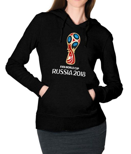 Fifa WorldCup Russia 2018 Logo Pullover Hoodie