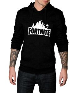 Fortnite Logo Hoodie For Women