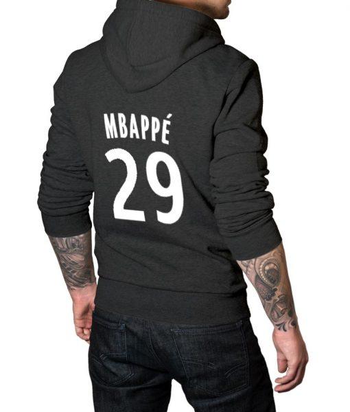 Footballer Mbappe Logo Hoodie