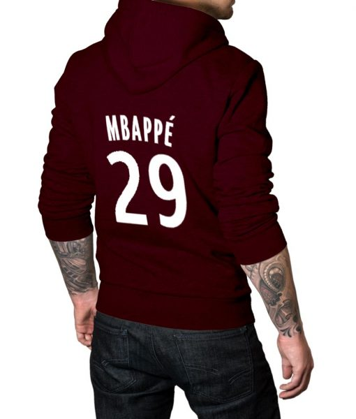 French footballer Logo Hoodie