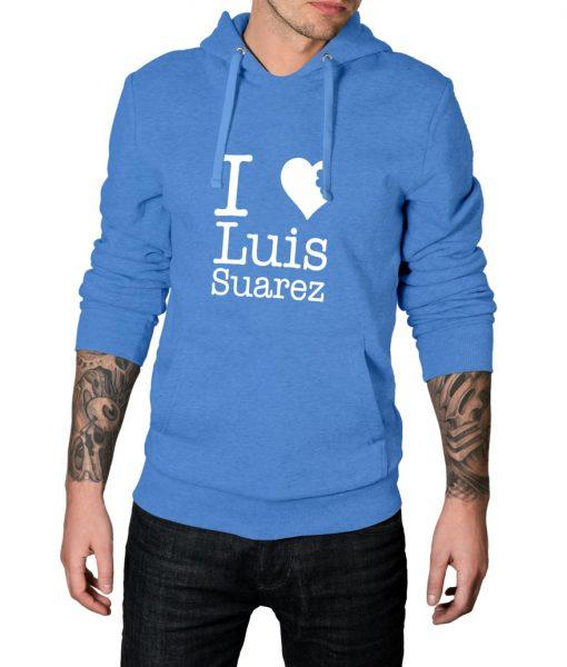 I Love Luis Suarez Pullover Hoodie