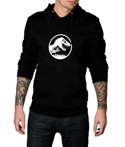 Jurassic World Fallen Kingdom Black Hoodie For Men