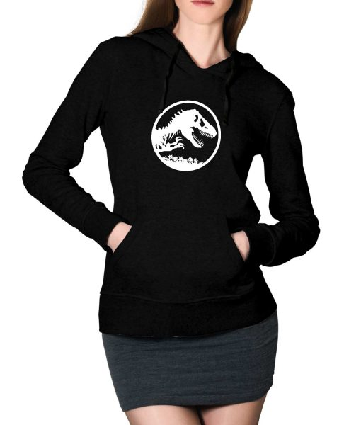 Jurassic World Fallen Kingdom Logo Black For Women