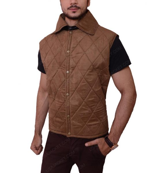 John Dutton Quilted Vest
