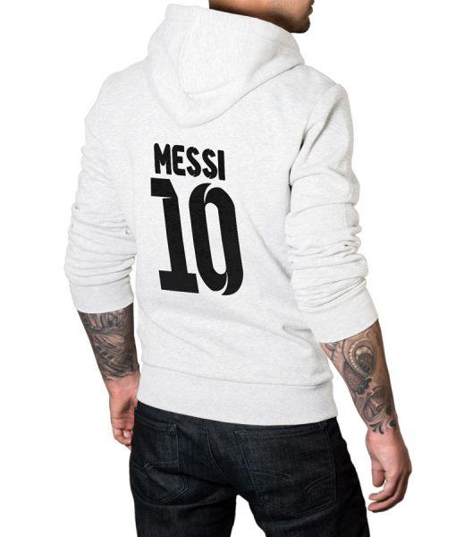 Messi No 10 Logo Hoodie