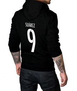 Luis Suarez Logo Pullover Hoodie