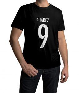Luis Suarez Logo Half Sleeves T shirt
