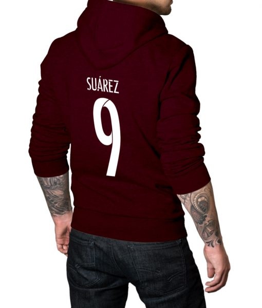 Luis Suarez Logo Hoodie