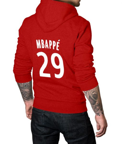 Mbappe No 29 Logo Hoodie