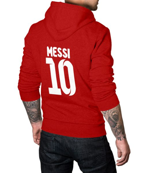 Lionel Messi No 10 Hoodie