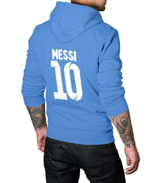 Messi Fans No 10 Logo Pullover Hoodie
