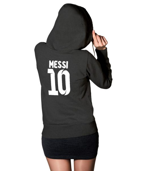 No 10 Logo Hoodie For Women