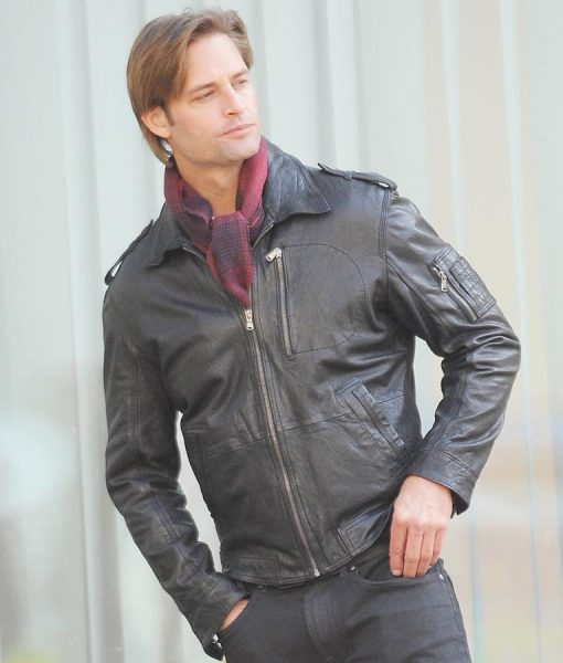 Mission Impossible 4 Josh Holloway Black Jacket