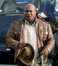 Luther Stickell Mission Impossible 5 Ving Rhames Brown Leather Jacket